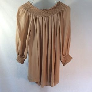 Theory Off The Shoulder Blouse
